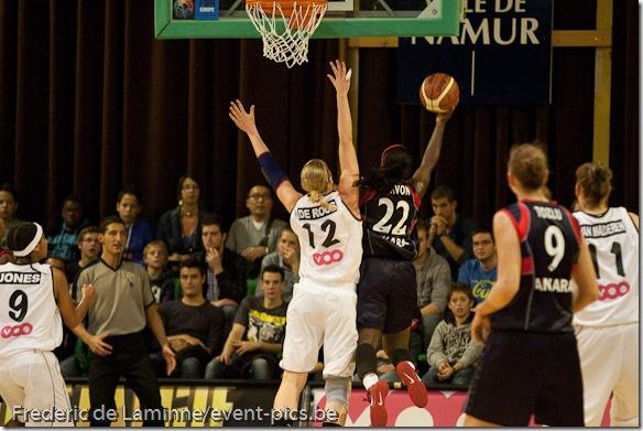 Coupe d'Europe FIBA : Dexia Namur - Ted Ankara