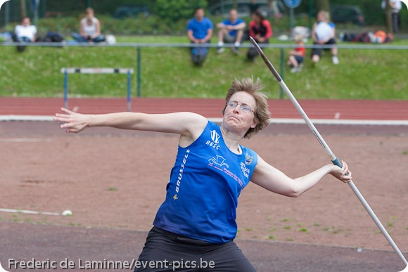 photo sportive : lancer du javelot