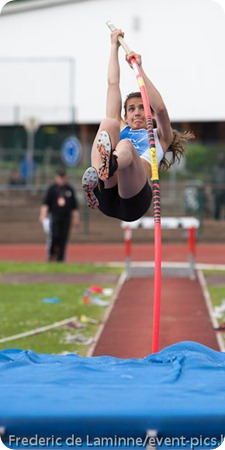 photographier saut à la perche
