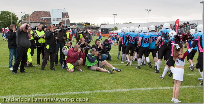Belgian Bowl XXV : Brussels Tigers - Antwerp Diamonds