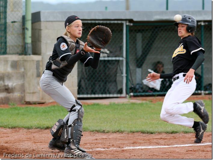 Baseball Cadets : Namur Angels - Mortsel Stars