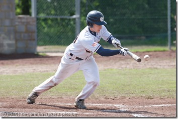 June 14, 2012; Namur, Belgium. Qualifier European Cup between the Gotenborg Baseball and the Barracudas Montpellier