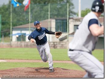 June 12, 2012; Namur, Belgium.  Qualifier European Cup between the White Sharks Almada(POR) and the Espoo Expos(FIN)