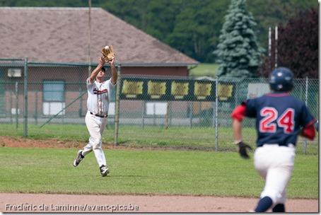 June 14, 2012; Namur, Belgium.  Qualifier European Cup between the Gotenborg Baseball and the Barracudas Montpellier