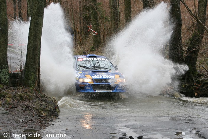 Ardenne Bleue Rallye 2006 SS5 Jalhay
