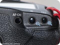 Mise au point avec le bouton AF-ON